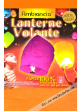 1 lanterne volante orange