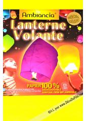1 lanterne volante jaune