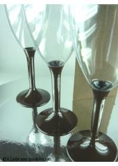 10 Verres à vin chocolat