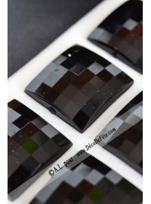 6 diamants carrés noir