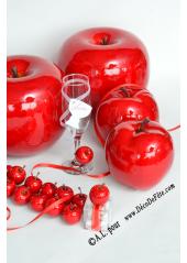 1 Pomme rouge DECO
