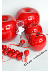 1 Pomme rouge GROSSE