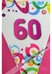 1 guirlande 60 ans