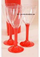 10 Verres à vin rouge