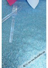 5M chemin de table ARC DE TRIOMPHE turquoise