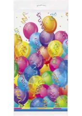 1 nappe joyeux anniversaire