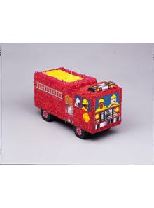 1 pinata camion pompier