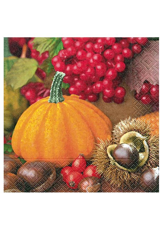 20 serviettes automne serviette noel