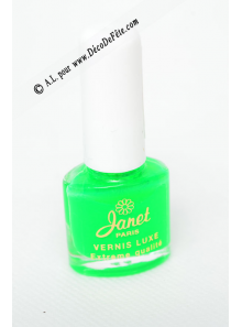 1 Vernis à ongle FLUO vert