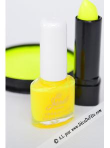 1 Vernis à ongle FLUO jaune