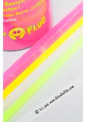 50 bracelets fluo et connecteurs