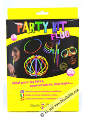 1 PARTY KIT FLUO