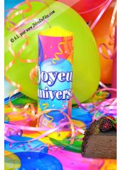 1 surprise de table joyeux anniversaire