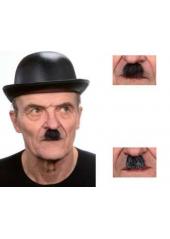 1 Moustache Charlot Poivre & Sel