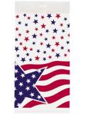 1 nappe drapeau américain