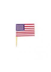 30 petits drapeaux américains