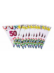1 guirlande 50 ans