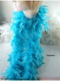 1 Boa Turquoise