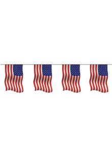 1 guirlande drapeau américain
