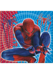20 Serviettes Anniversaire Spiderman