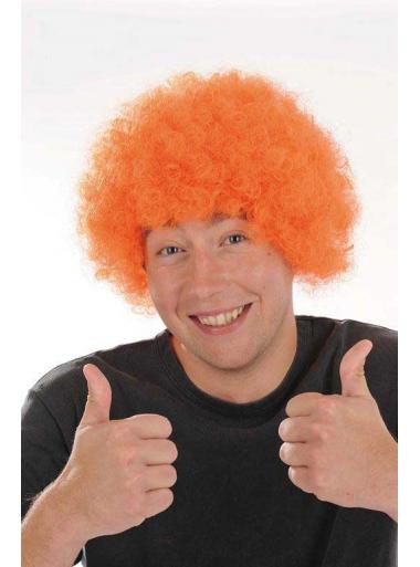 1 Perruque Pop Orange
