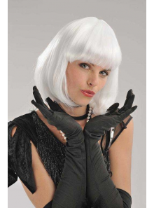 1 Perruque Cabaret blanche