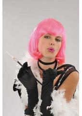 1 Perruque Cabaret rose