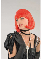 1 Perruque Cabaret rouge