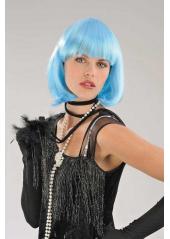 1 Perruque Cabaret turquoise