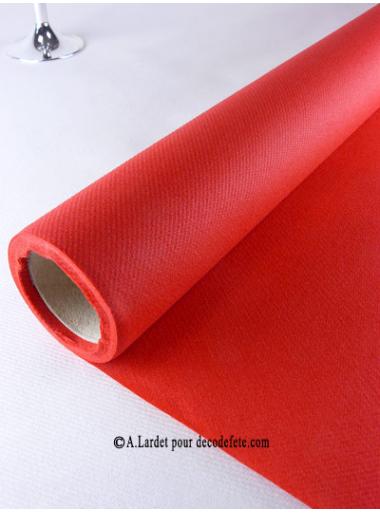 25M Nappe jetable presto rouge
