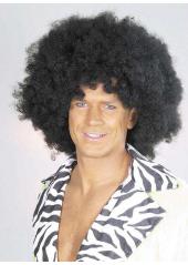 1 Perruque Afro Noire