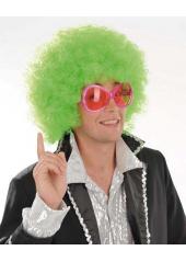 1 Perruque Afro Vert