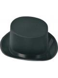 1 Chapeau Haut de forme satin Noir