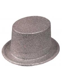 1 Chapeau Haut de forme Argent