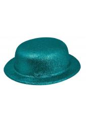 1 Chapeau melon turquoise