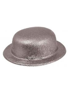 1 Chapeau melon argent