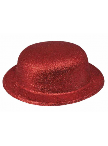1 Chapeau melon rouge
