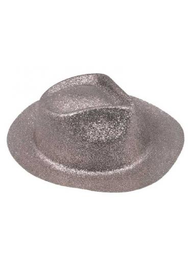 1 Chapeau Borsalino argent