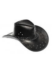 1 Chapeau de Cow Boy Couleur Cuir