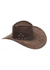 1 Chapeau de Cow Boy Marron Foncé