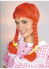 1 Perruque Fifi rousse