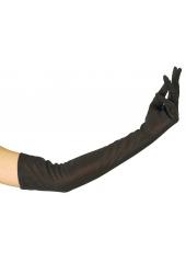 1 paire de Gants Longs Noirs