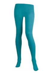 1 paire de Collants Fluo Turquoise
