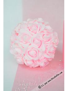 1 boule de roses ROSE