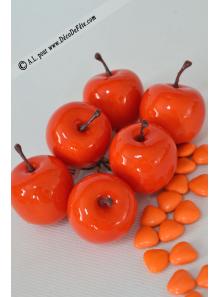 6 Pommes orange MINI