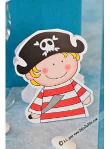 10 Boites Petit Pirate