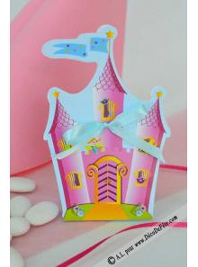 10 Boites Chateau de Princesse