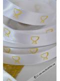 25m Ruban 10mm communion CALICE or