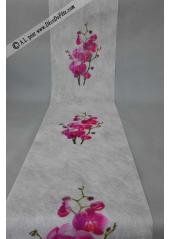 5M Chemin de table orchidee fushia
