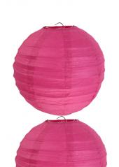 2 Lanternes FUSHIA 30 cm